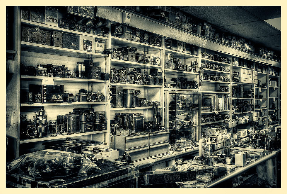 The Camera Store – You might have called it the Camera Shop ...