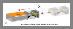 Step 5 - Slide Internal Unit Into Sleeve